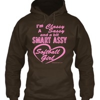 Softball Shirt - Sassy Softball Girl