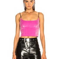 Alexander Wang Fitted Cami Top in Pink | FWRD