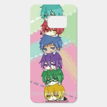 Kuroko no Basket kawaii anime Cover Case For Samsung Galaxy S7 S6 Edge Plus S5 S4 S3 S2 and mini series C5 C7 Phone cases