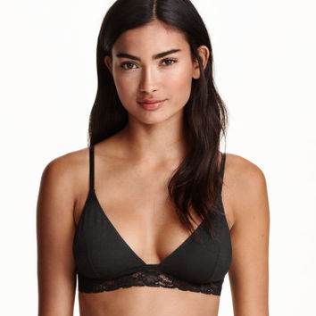 H&M 2-pack Soft Cotton Bras $17.99
