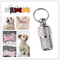 Aluminium Tags For Pets,Without Personalised Engraving,Dog Cat Pet,Collar Tag LE