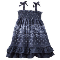 2-Piece Smocked Bandana Dress