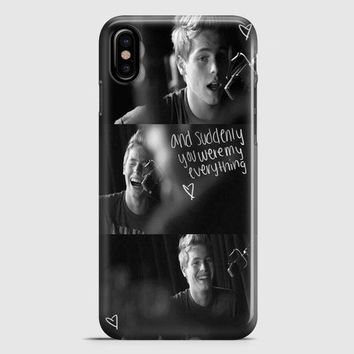 Luke Hermings Collages All Photo iPhone X Case | casescraft