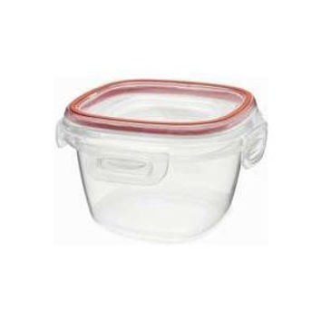 Rubbermaid  Lock-its 2-Cup Square Food-Storage Container with Lid