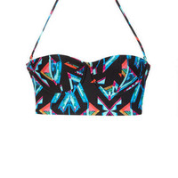 99 Degrees Abstract Underwire Midkini