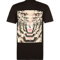 Last Kings Tyga Eye Mens T-Shirt Black  In Sizes