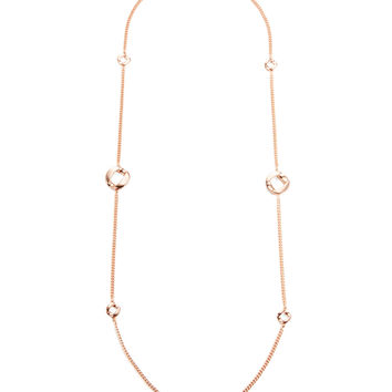 Marc by Marc Jacobs Jewelry Women's Long Link Station Necklace - Gold