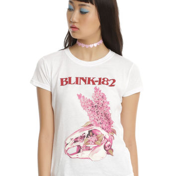 Blink-182 Flower Bunny Girls T-Shirt