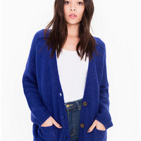 Mohair Loose Cardigan | American Apparel