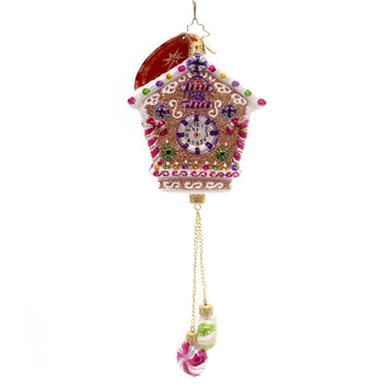 Christopher Radko Time For Sweets Glass Ornament
