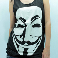 PHANTOM of The OPERA Tank Top Unisex handmade silk screen printing