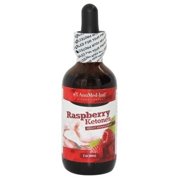 AnuMed - Raspberry Ketones Liquid Drops 200 mg. - 2 oz.