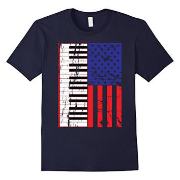 Piano T-Shirt American Pianist Classic Music  Lover  Gifts