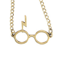 Harry Potter Glasses Logo Necklace