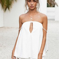 Keyhole Playsuit - Playsuits by Sabo Luxe