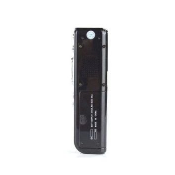 """1.3"""" LED Mini Digital Voice Recorder with MP3 Player  Black"""