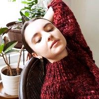 Strathcona mockneck sweater of Merino wool (limited burgundy- more colours)