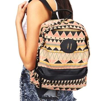 Aztec Canvas Backpack
