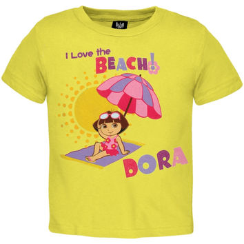 Dora The Explorer - Love The Beach Toddler T-Shirt