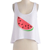 A Snack for Style Top | Mod Retro Vintage T-Shirts | ModCloth.com