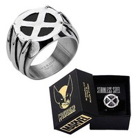 X-Men Wolverine Ring - Body Vibe - Wolverine - Jewelry at Entertainment Earth