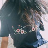 UO Wildflower Tee | Urban Outfitters