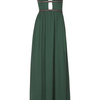 **Plunge Maxi Dress by WYLDR