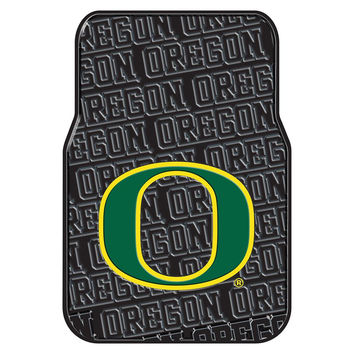 Oregon Ducks NCAA Car Front Floor Mats (2 Front) (17x25)