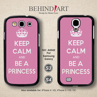 Samsung Galaxy S4 case, Samsung Galaxy S3 case, Phone Cases, Phone Covers, Skins, Case for Samsung, Keep Calm-A0042
