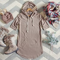 The Cozy Hoodie Dress