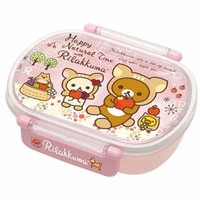 Nyanko Rilakkuma with Friends Tight Bento Box
