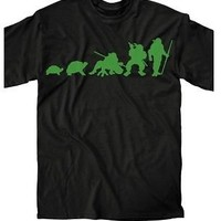 Teenage Mutant Ninja Turtles Ninja Evolution Adult T-Shirt - Teenage Mutant Ninja Turtles - | TV Store Online