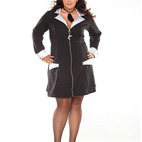 Gangster Girl Plus Size Costume | Sexy Clothes Womens Sexy Dresses Sexy Clubwear Sexy Swimwear | Flirt Catalog