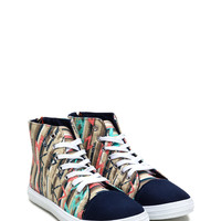 Put A Cap On It High-Top Sneakers GoJane.com