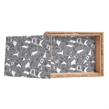 Heather Dutton Fragmented Grey Storage Box