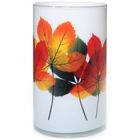 Brilliant Leaves : Pillar Candle Holder : Yankee Candle