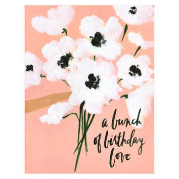 Bunch of Birthday Love Greeting Card
