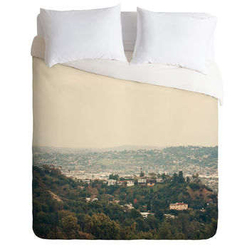 Catherine McDonald Southern California Duvet Cover