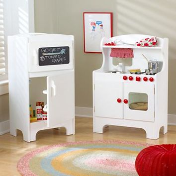 Kids' Imaginary Play: Kids Kitchen Appliances Set in Kitchen & Grocery | The Land of Nod