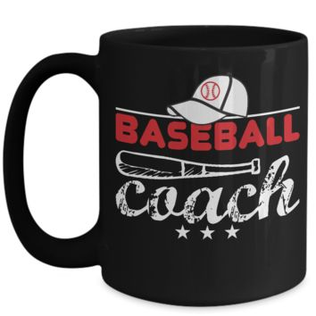 Cute Baseball Coach Coffee Mug