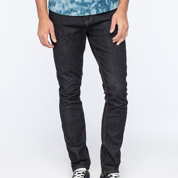 Rsq Seattle Mens Skinny Tapered Jeans Dark Indigo  In Sizes