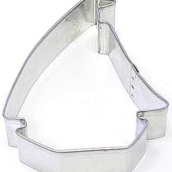 "3.5"" Sailboat Cookie Cutter Sailing Boat"