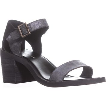 Kelsi Dagger Brooklyn Linden Ankle Strap Sandals, Black, 9 US / 39.5 EU