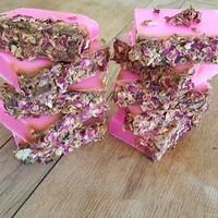 Soap Bar / Dried Rose / Handmade Soap / Artisan
