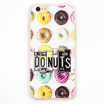 Fun  Donuts Case  For iPhone 6 6s plus