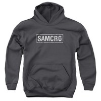 Sons Of Anarchy - Samcro Youth Pull Over Hoodie