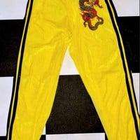 SWEET LORD O'MIGHTY! DRAGON TRACKIEZ IN YELLOW VELVET