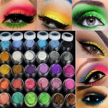 2017 beauty makeup to faced eyeshadow palette 30 Colors eyeshadow Powder palette Makeup Mineral Eyeshadow set Makeup tools New