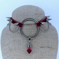 Velvet Blood Choker