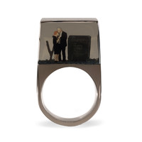 Mourning Couple Ring